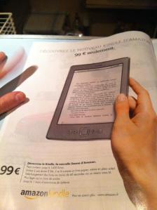 Kindle, la pleine page